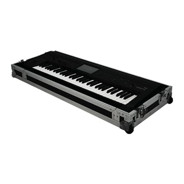 flight case keyboard with wheels