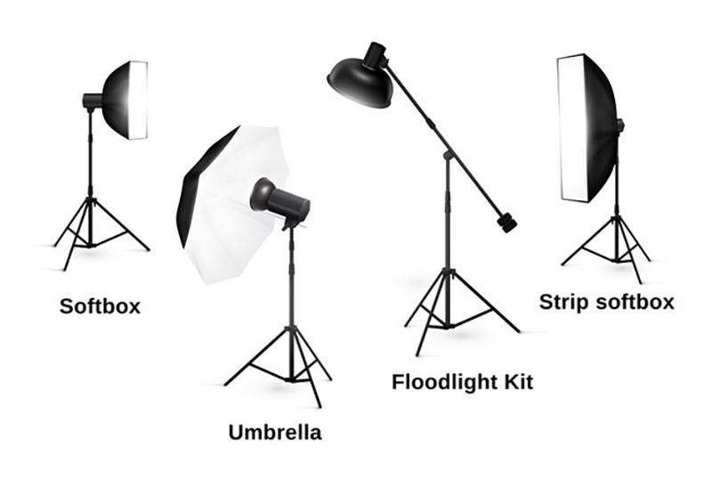 انواع تجهیزات نورپردازی