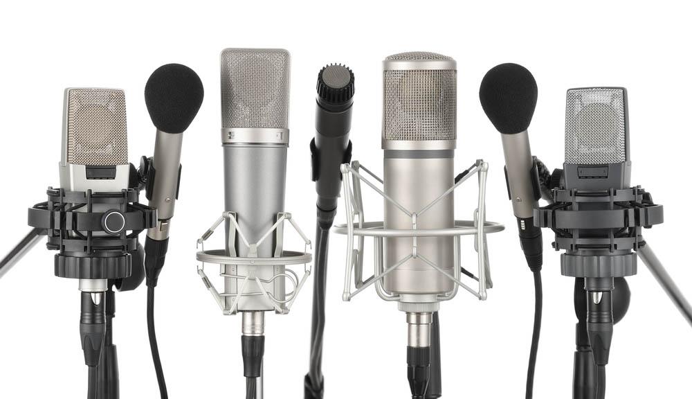انواع میکروفون استودیویی